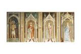 Theory of Saints, Fresco Gicléetryck av Paolo Uccello