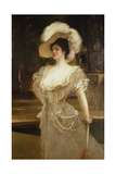 A Portrait of Mrs, 1901 Giclee Print by Jean Joseph Benjamin Constant