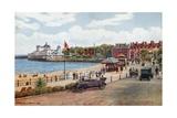 Esplanade and Pavilion, Weymouth Impressão giclée por Alfred Robert Quinton