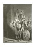King Henry V, before Harfleur Giclee Print by Richard Westall