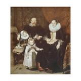 Artist's Family Giclée-Druck von Cornelis de Vos