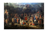 Christ Carrying the Cross Giclée-Druck von David Vinckboons