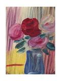 Flowers in Blue Vase; Blumen in Blauer Vase, 1936 Giclee-trykk av Alexej Von Jawlensky