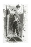 Gavroche, 19th Century Giclée-vedos tekijänä Emile Antoine Bayard