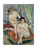 The Two Bathers, 1923 Giclée-Druck von Suzanne Valadon