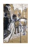The Coach Driver of the Omnibus Company, 1888 Lámina giclée por Henri de Toulouse-Lautrec