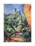 Red Rock, C.1895 Reproduction procédé giclée par Paul Cézanne