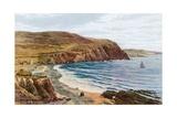 Clarach Bay, Aberystwyth Giclee-trykk av Alfred Robert Quinton
