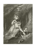 The Poet's Dream Giclee Print by Richard Westall