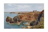 Mullion Cove, Cornwall Giclee-trykk av Alfred Robert Quinton