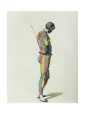 Harlequin in 1858 Giclee Print by Maurice Sand