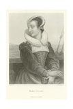 Marie Stuart Giclee Print by Alphonse Marie de Neuville