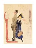 On Leave Impressão giclée por Charles Demuth