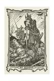 Sir Mordred Lámina giclée por Henry Justice Ford