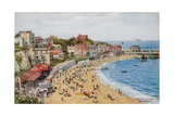 The Bay and Sands, Broadstairs Impressão giclée por Alfred Robert Quinton