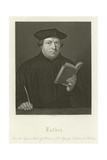 Martin Luther Reproduction procédé giclée par Hans Holbein the Younger