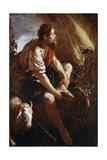 Moses before a Burning Bush Giclée-tryk af Domenico Fetti or Feti