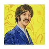 Ringo Starr Giclée-tryk