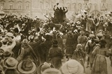 End of the War: London, 1918 Fotografie-Druck