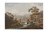 'Habbies How, Peggy'S Pool and Carlops Hill Giclee Print by James Stevenson