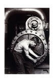 Powerhouse Mechanic, C.1924; 1930S Reproduction procédé giclée par Lewis Wickes Hine