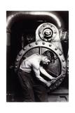 Powerhouse Mechanic, C.1924; 1930S Gicléetryck av Lewis Wickes Hine