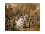 Susanna and Elders Giclée-Druck von Francois Andre Vincent