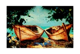 Bouyant Markets (Speightstown) Barbados Photographic Print by Andrew Hewkin