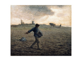 The Sower Giclee Print by Jean-François Millet