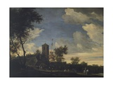 Feast of May Tree Giclee Print by Salomon van Ruysdael