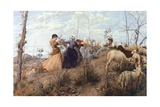 Ring-Around-The-Rosey Giclee Print by Niccolo Cannicci