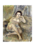 Reclining Girl, 1925 Giclee Print by Jules Pascin