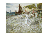 The Shingle Beach Giclee Print by James Kay