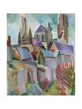 Towers of Laon, 1912 Giclée-vedos tekijänä Robert Delaunay