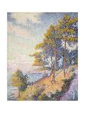 Saint Tropez, the Coastal Path, 1902 Giclee Print by Paul Signac
