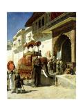 The Rajah's Favourite, 1884-89 Gicléedruk van Edwin Lord Weeks