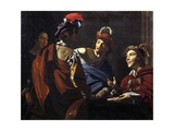 Musicians, Ca 1620 Giclee Print by Theodor Rombouts