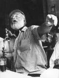 Ernest Hemingway Impressão fotográfica