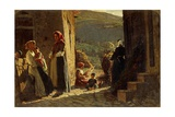 Meeting of Peasants, 1861 Reproduction procédé giclée par Cristiano Banti