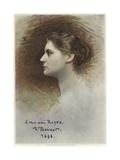 Study for a Profile of Rose Caron Giclée-vedos tekijänä Leon Joseph Florentin Bonnat