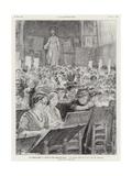 Feminism at the Ecole Des Beaux Arts Giclee-trykk av Charles Paul Renouard
