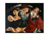 Praying Angels Giclée-tryk af Gaudenzio Ferrari