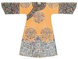 Manchu Style Robe Lámina fotográfica