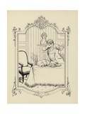Cartoon from Memoires D'Une Glace Giclee Print by Albert Guillaume