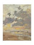 Large Sky, C.1888-95 Reproduction procédé giclée par Eugène Boudin