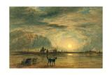Beach Scene - Sunrise, C.1820 Giclee Print by David Cox