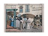 Extravagances of 1834 Lámina giclée por Cesar Bacle
