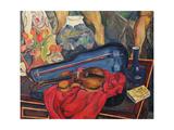 The Violin Case, 1923 Giclée-Druck von Suzanne Valadon