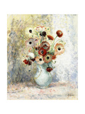 Bouquet of Anemones Giclee Print by Henri Lebasque