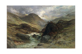 Gorge in the Mountains, 1878 Lámina giclée por Gustave Doré